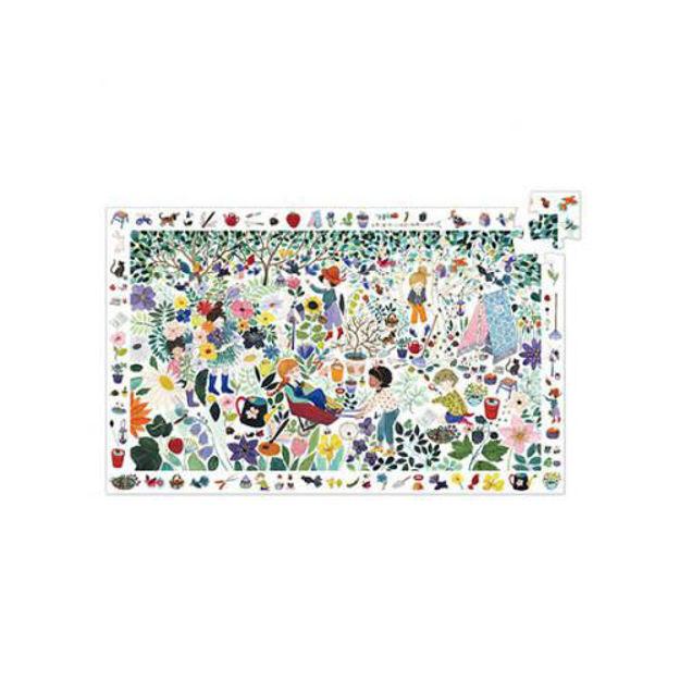 Imagem de Puzzle de Observação - Flores