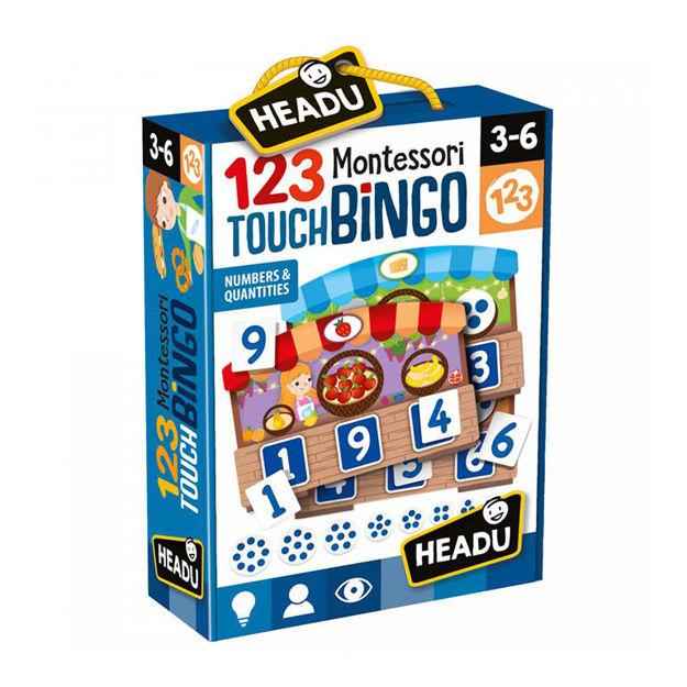 Imagem de 123 Montessori Touch Bingo