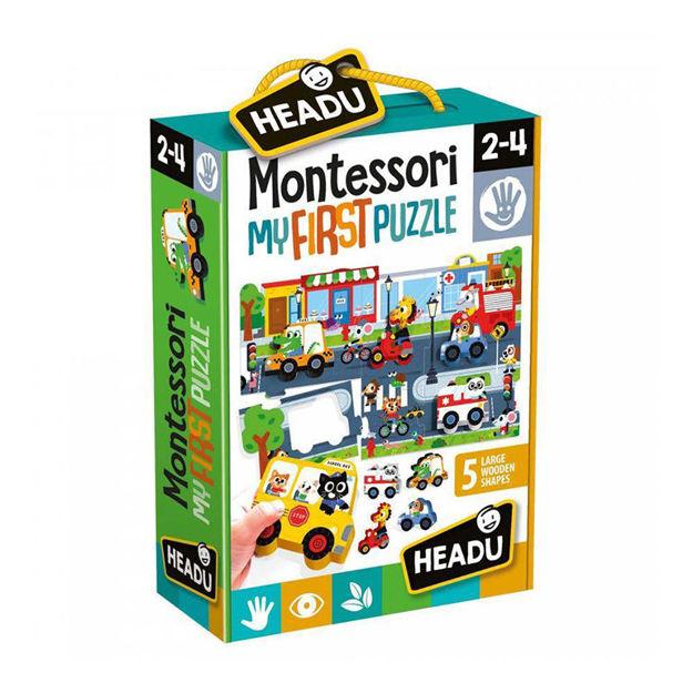 Imagem de Montessori My First Puzzle - A Cidade