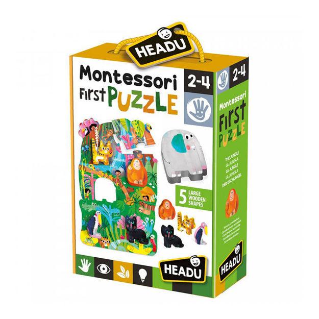 Imagem de Montessori My First Puzzle - A Selva