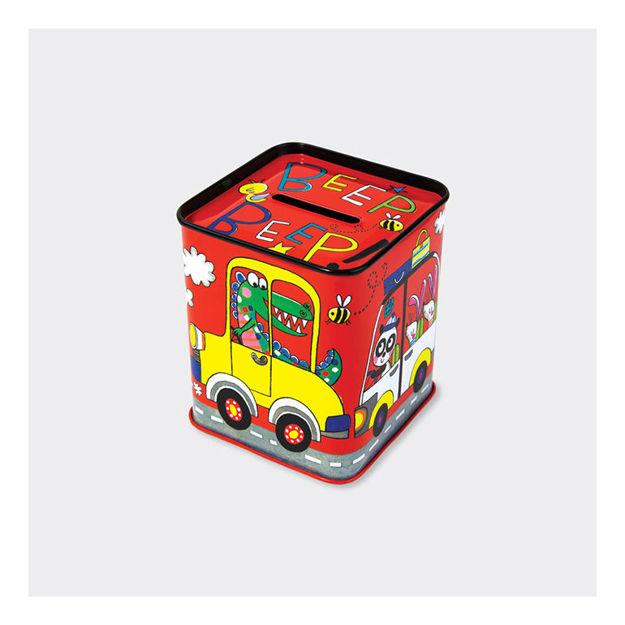 Imagem de Mealheiro Lata - Beep! Beep! Carros