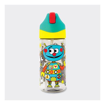 """Imagem de Garrafa de água com Palhinha """"Robot"""""""