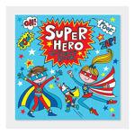 """Imagem de Livro de Colorir """"Super Heróis"""""""
