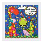 """Imagem de Livro de Colorir """"Dinossauros"""""""
