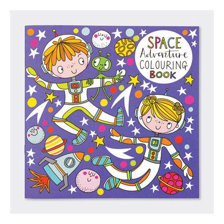 """Imagem de Livro de Colorir """"Espaço"""