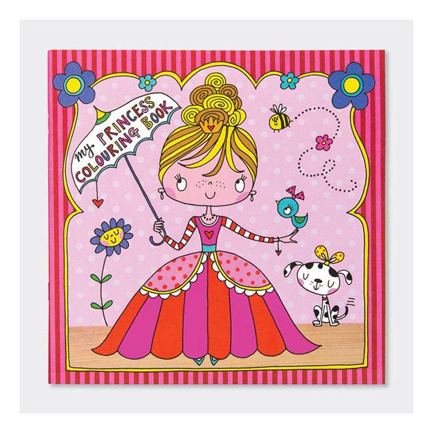"""Imagem de Livro de Colorir """"Pequena Princesa"""""""