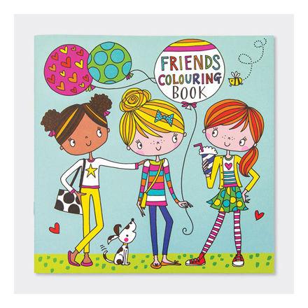"""Imagem de Livro de Colorir """"Amigos"""""""