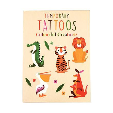 """Imagem de Tattoos Temporárias """"Colorful Creatures"""""""