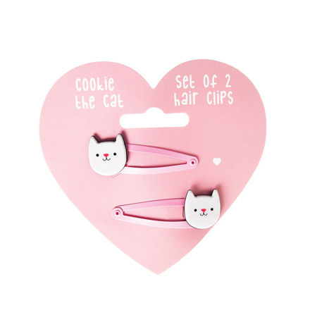 Imagem de Conjunto 2 Ganchos - Cookie the Cat