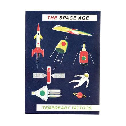 """Imagem de Tattoos Temporárias """"Space Age"""""""