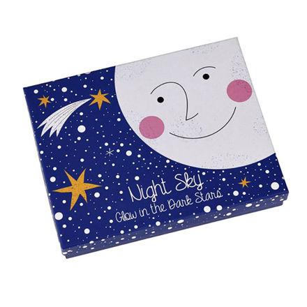 Imagem de Conjunto Estrelas Brilham no Escuro Night Sky