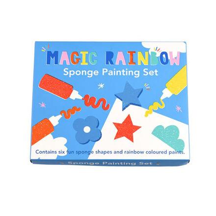 Imagem de Conjunto Pintura c/ Esponjas Magic rainbow