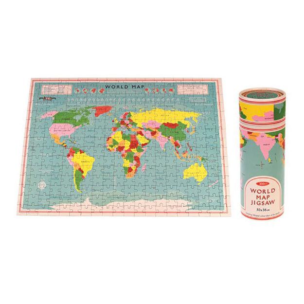 Imagem de Puzzle Mapa Mundo