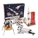 """Imagem de Cria a tua Missão Espacial 3D Puzzles """"Space Age"""""""
