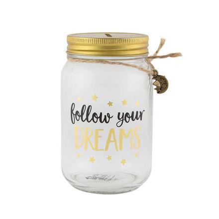 """Imagem de Mealheiro """"Follow your dreams"""""""