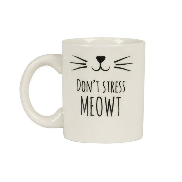 """Imagem de Caneca """"Don't Stress MEOWT"""""""