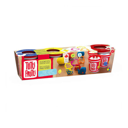 Imagem de Tutti Frutti Plasticina - 3 potes + moldes