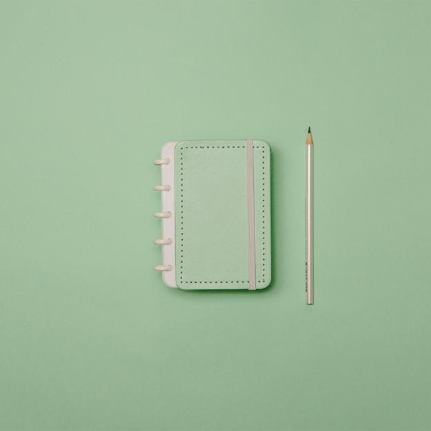 Imagem de Caderno Verde Pastel - Inteligine