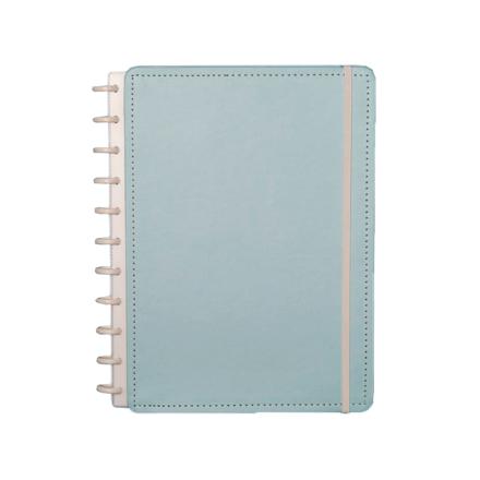Imagem de Caderno Azul Pastel - Grande