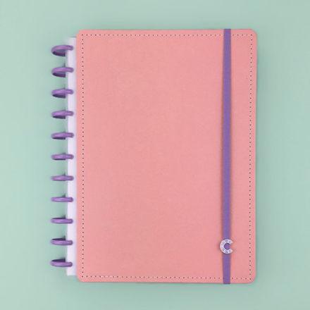 Imagem de Caderno Grande G+ Rosa Pastel