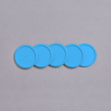 Imagem de Discos e Elástico G Azul Atlântico