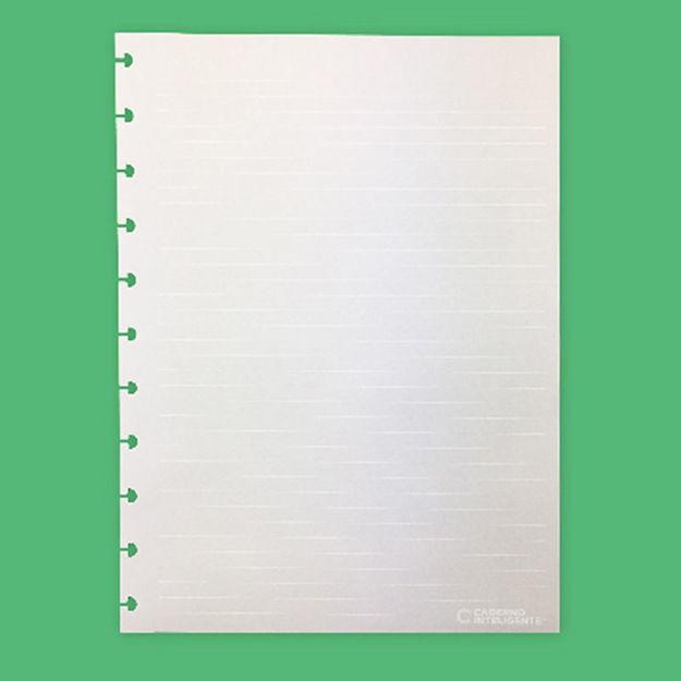 Imagem de Folhas White Lines Grande 120g