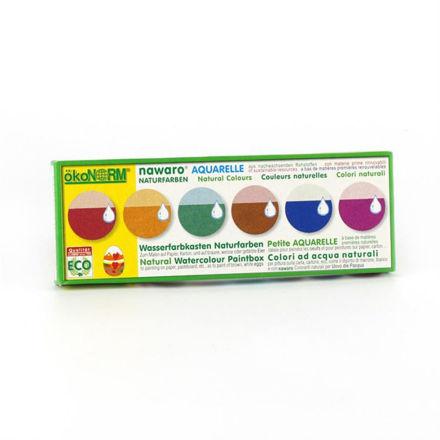 Imagem de Aguarelas em Caixa de Cartão, 6 cores