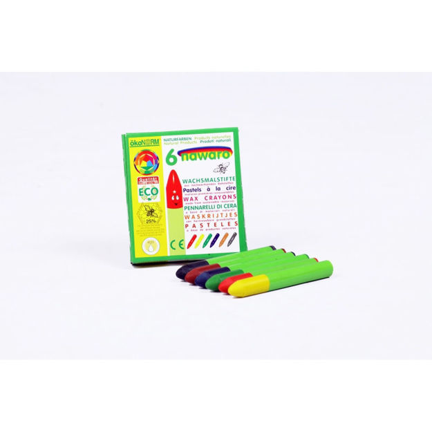 Imagem de Lápis de Cera Ecológicos, 6 cores