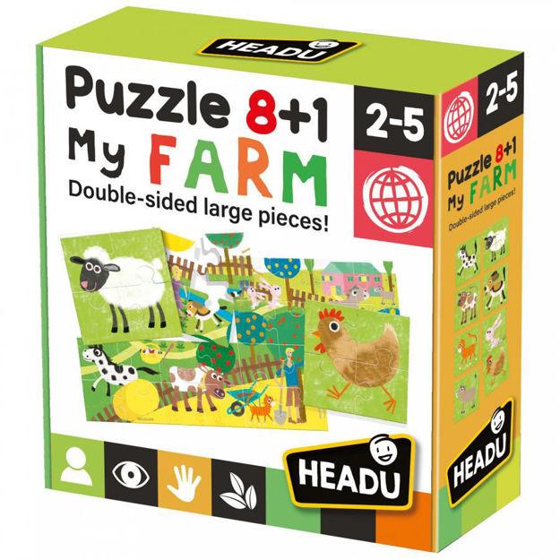 Imagem de Puzzle 8+1 - A Quinta