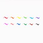 Imagem de Conj. 12 marcadores pincel