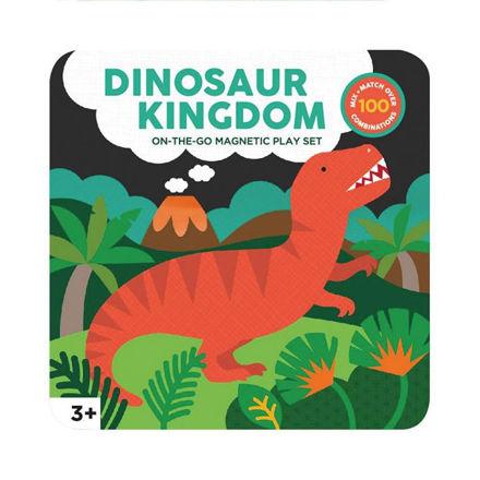 Imagem de Set de Brincar Magnético - Reino dos Dinossauros