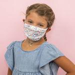 Imagem de Máscara Criança Reutilizável - Chuva