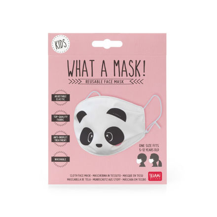 Imagem de Máscara Criança Reutilizável - Panda