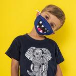 Imagem de Máscara Criança Reutilizável - Monstro