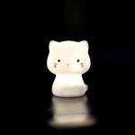 Imagem de Mini Luz de Presença Recarregável Gatinho