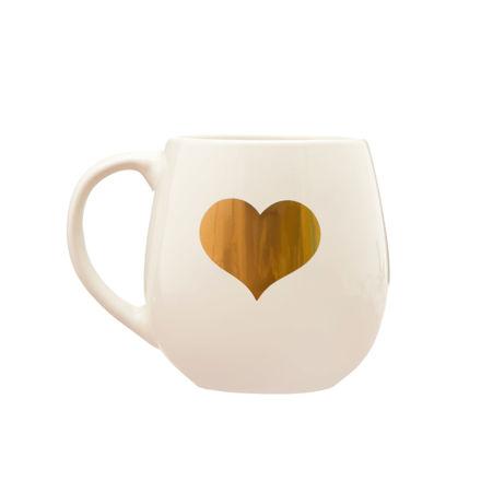"""Imagem de Caneca """"Gold Heart"""""""