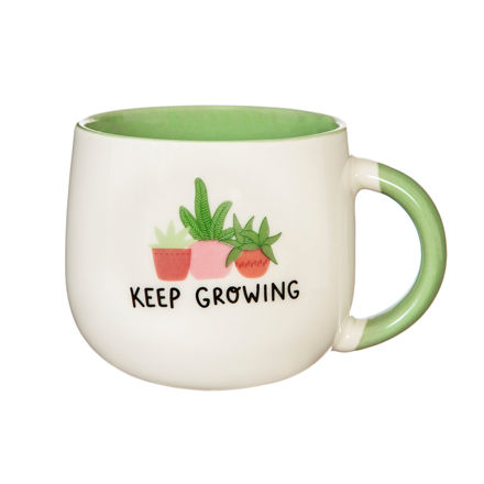 """Imagem de Caneca """"Keep Growing"""""""