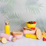 Imagem de Marmita em Bamboo - Rosa Pastel