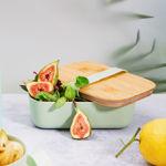 Imagem de Marmita em Bamboo - Verde Pastel
