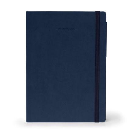 Imagem de Notebook Grande c/linhas - Azul Escuro