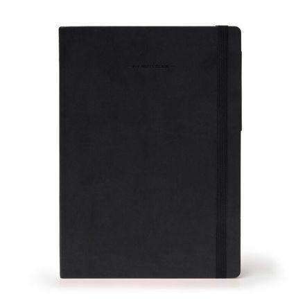 Imagem de Notebook Grande c/linhas - Preto