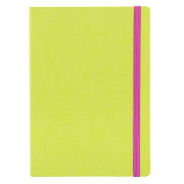 Imagem de Notebook Grande c/linhas - Verde Alface