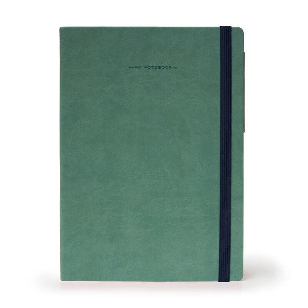Imagem de Notebook Grande c/linhas - Verde Vintage