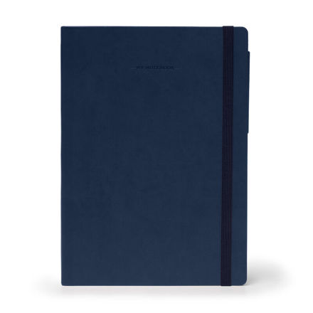 Imagem de Notebook Grande liso - Azul Escuro