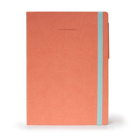 Imagem de Notebook Grande liso - Salmão