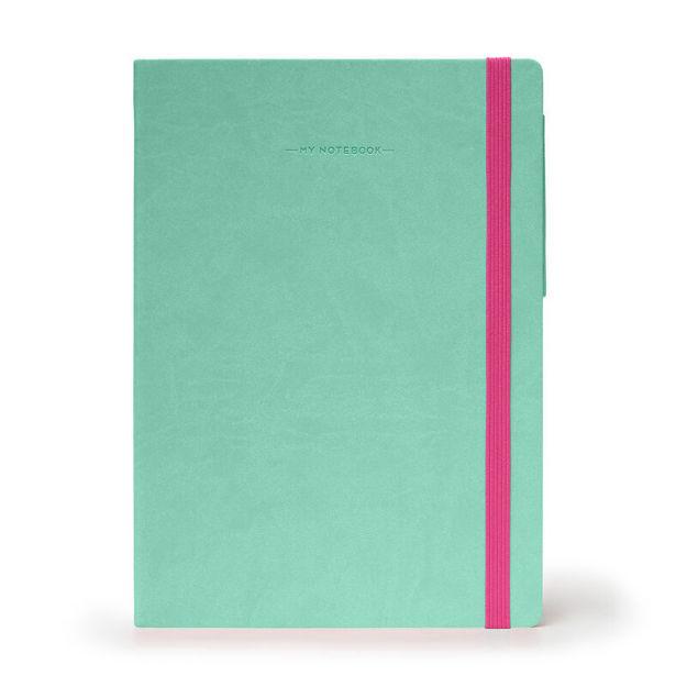 Imagem de Notebook Grande liso - Verde Água