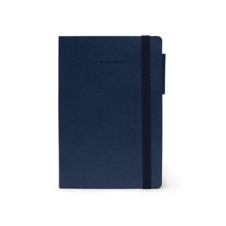 Imagem de Notebook Médio c/linhas - Azul escuro