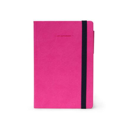 Imagem de Notebook Médio c/linhas - Rosa Choque