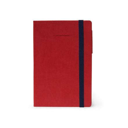 Imagem de Notebook Médio c/linhas - Vermelho