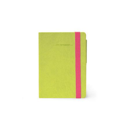Imagem de Notebook peq c/ linhas - Verde Alface